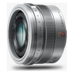 Panasonic 15 mm / F1,7 ASPH srebrny