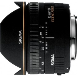 Sigma 15mm F2.8 EX DG FISHEYE DIAGONAL