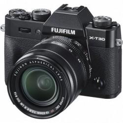 FujiFilm X-T30 czarny + 18-55mm