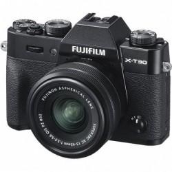 FujiFilm X-T30 czarny + 15-45mm