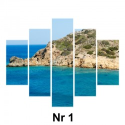 Obraz - 5 elementów (płótno naciągnięte na blejtram)