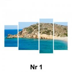 Obraz - 4 elementy nieregularny (płótno naciągnięte na blejtram)