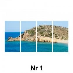 Obraz - 4 elementy regularny (płótno naciągnięte na blejtram)