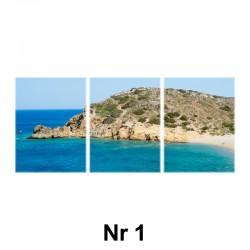 Obraz - tryptyk (płótno naciągnięte na blejtram)